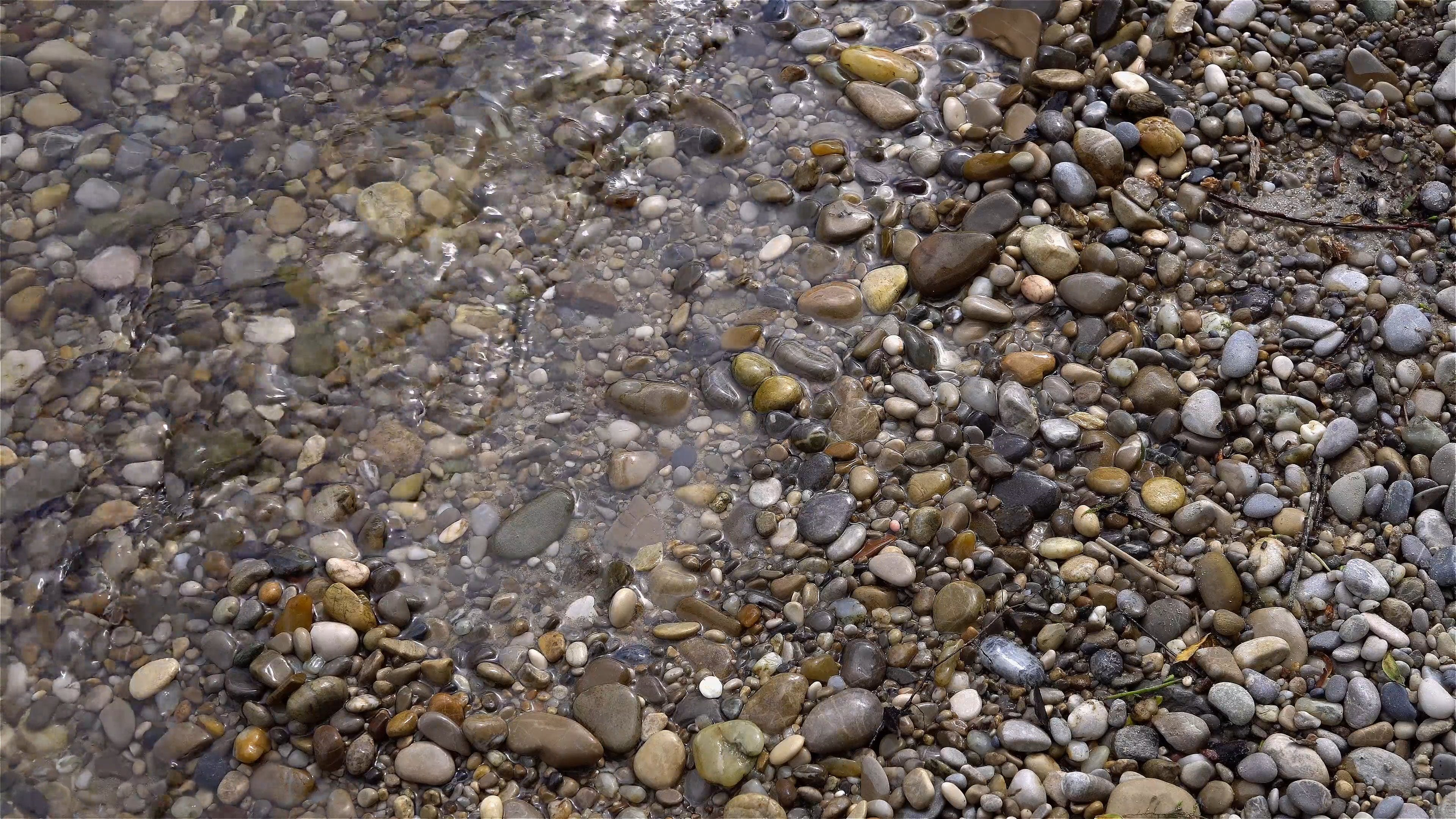 Pebbles On Water
