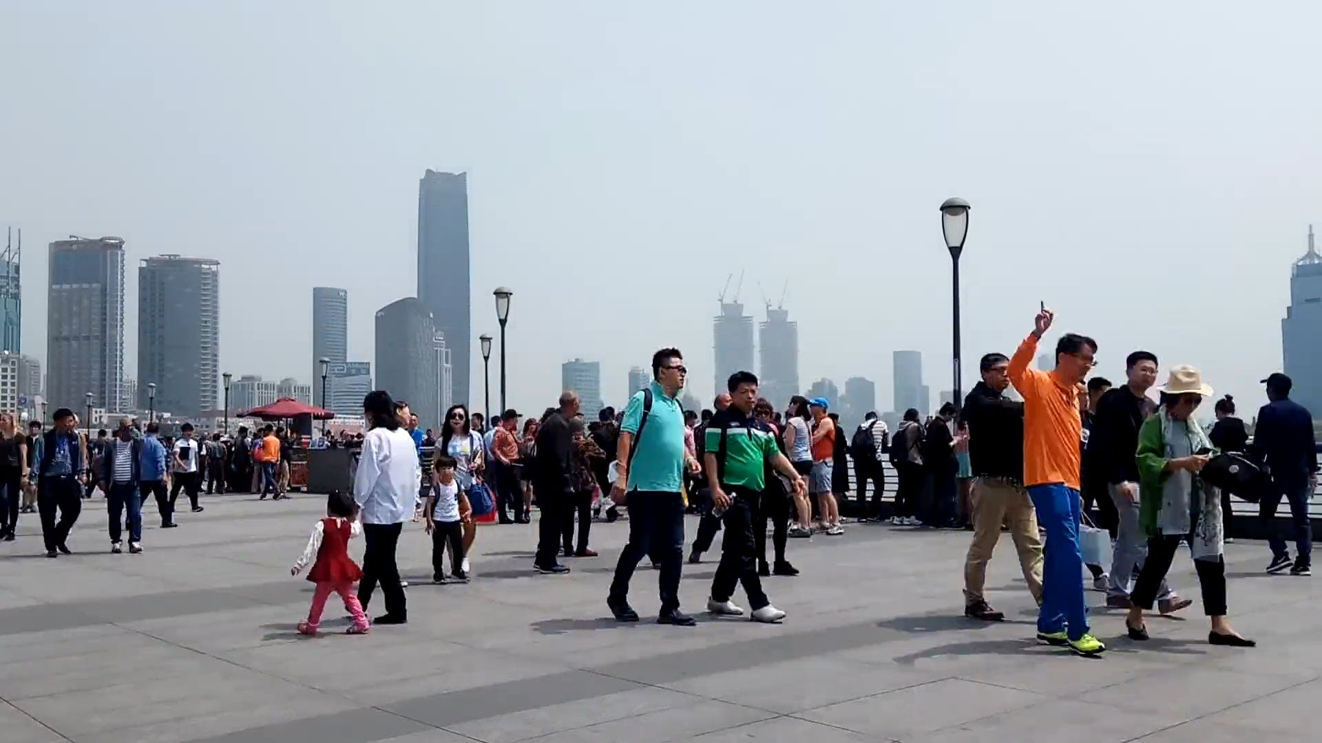 Time Lapse Video Of Tourists