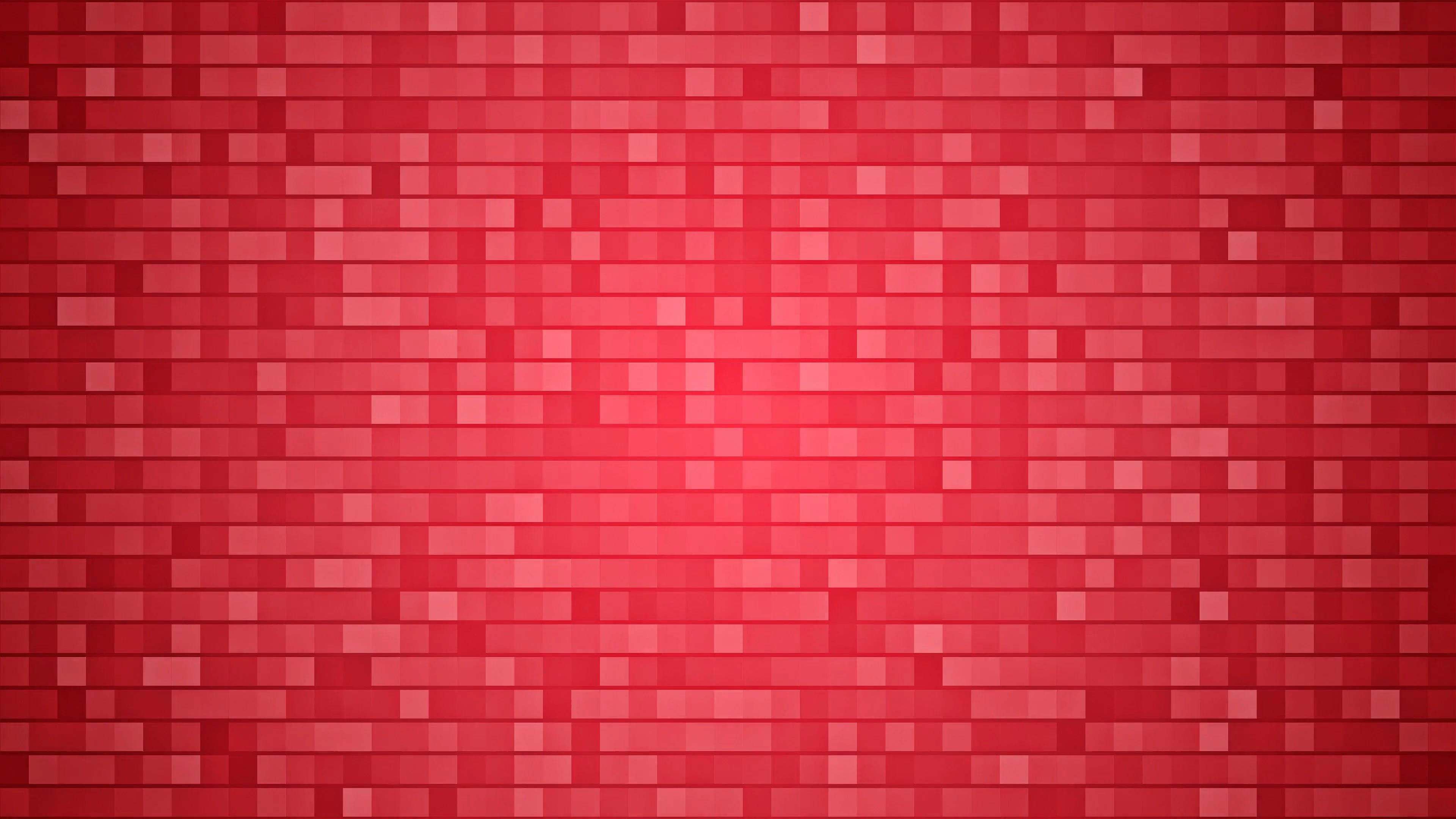 Red Squares Background