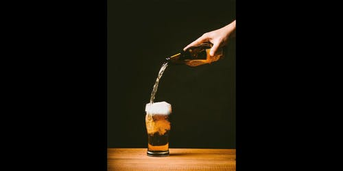 Pouring Of Beer