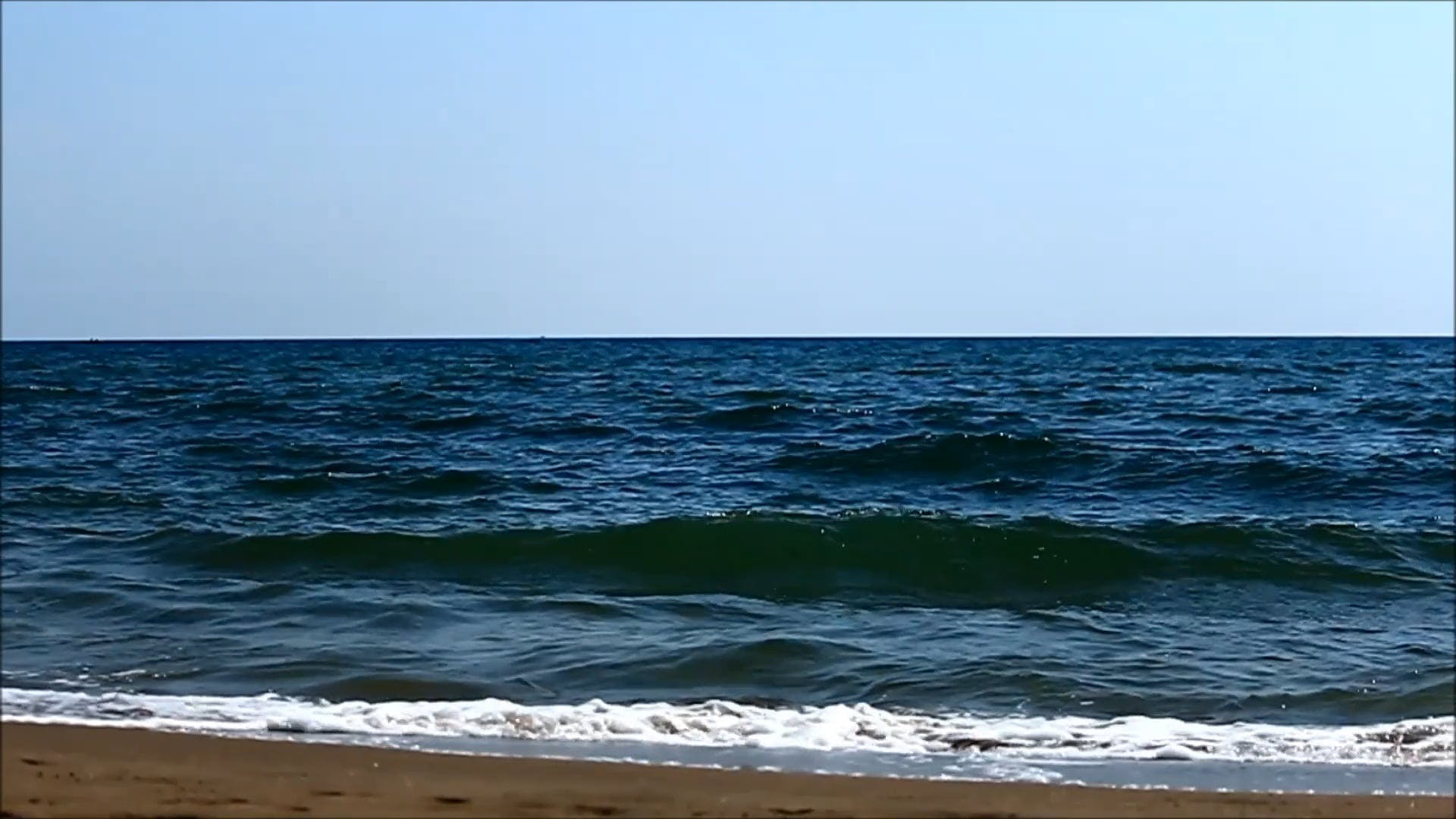 Slow Motion Video Of Waves