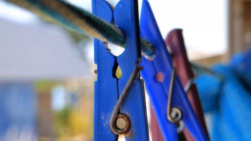 Blue Clothespins