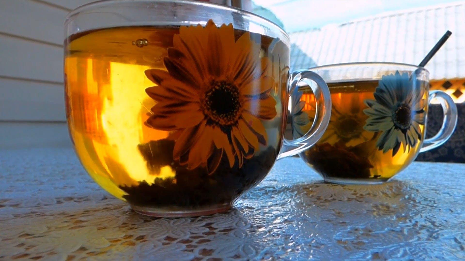 Mixing A Tea