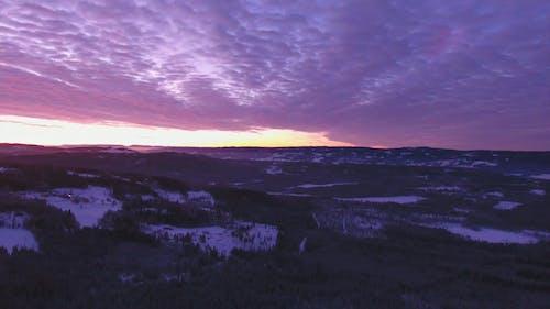 Footage of Beautiful Sunset