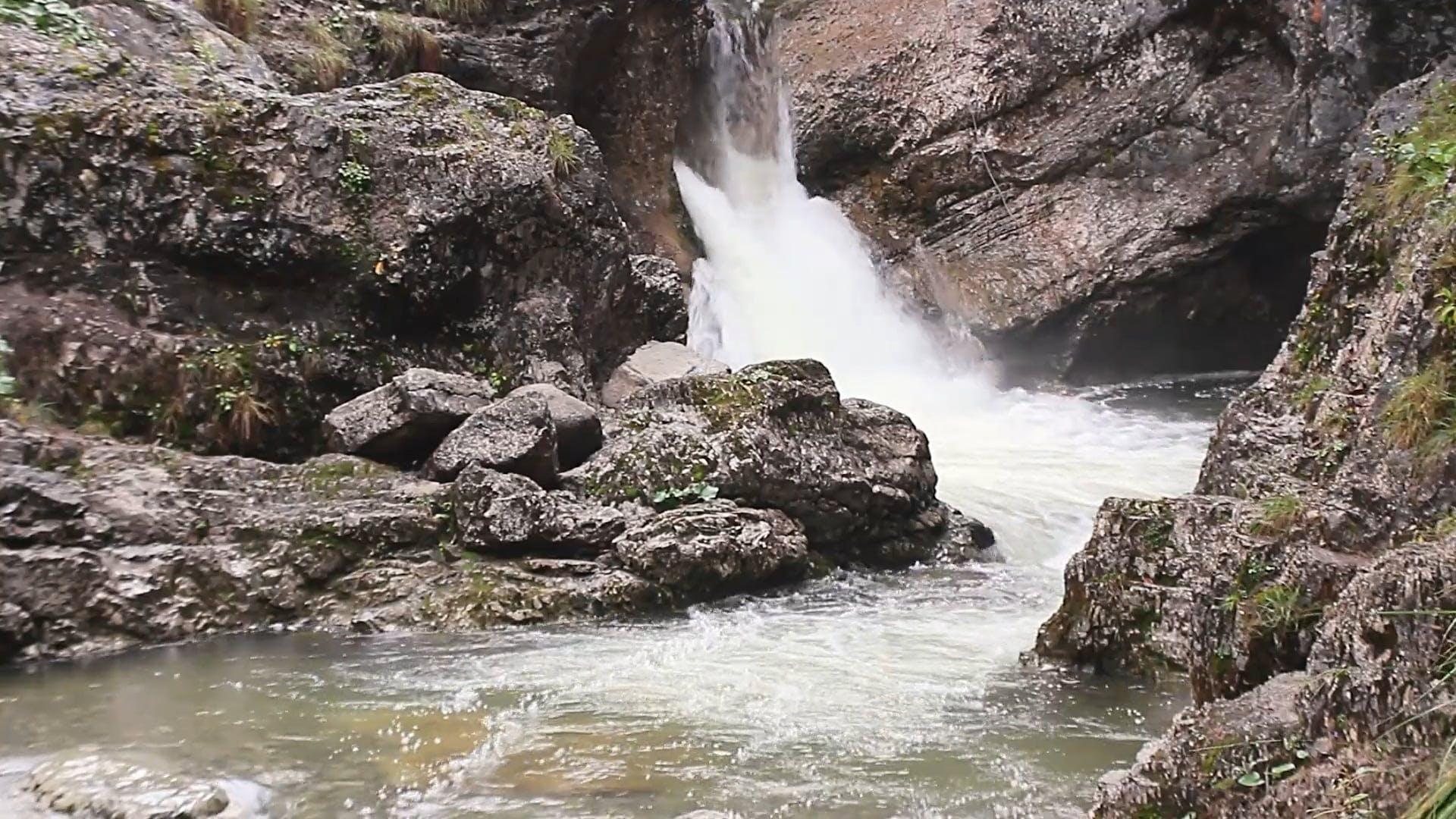 Video Footage Of Waterfall