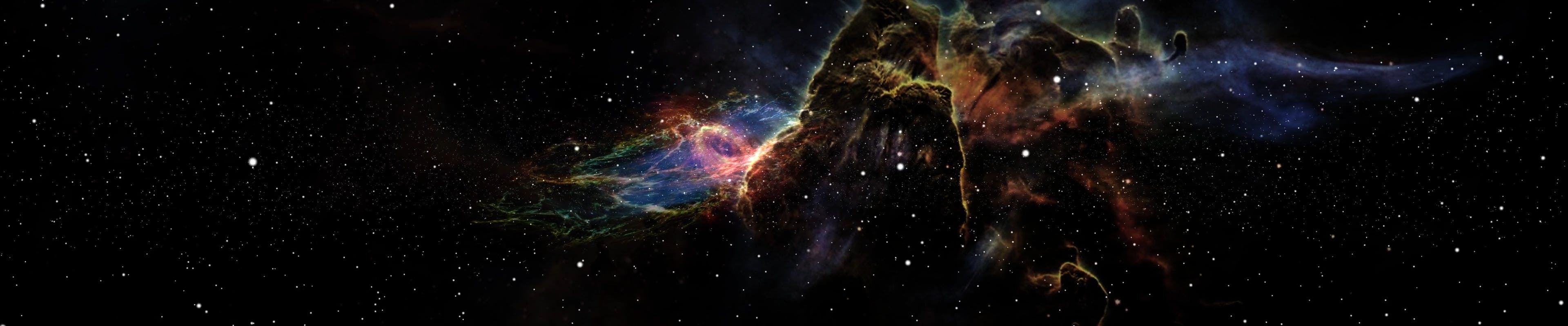 CGI Animation Of Galaxy