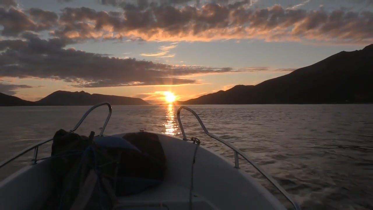Boat Sailing The Sea
