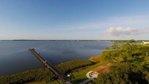 Aerial View Of Lake Park