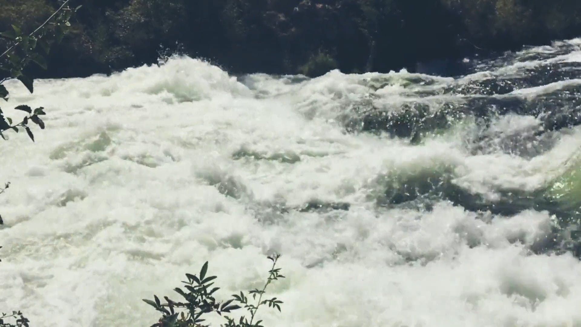 A Rapid Stream Footage