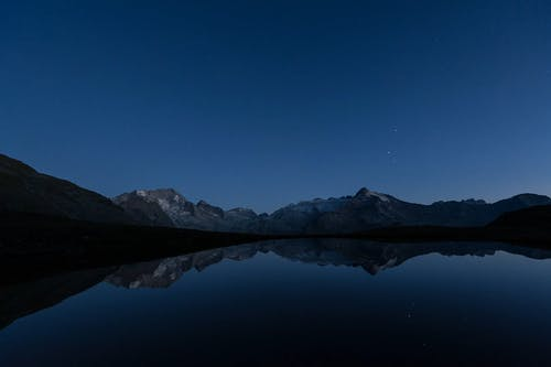 Beautiful Timelapse of the Night Sky with Reflections in a Lake