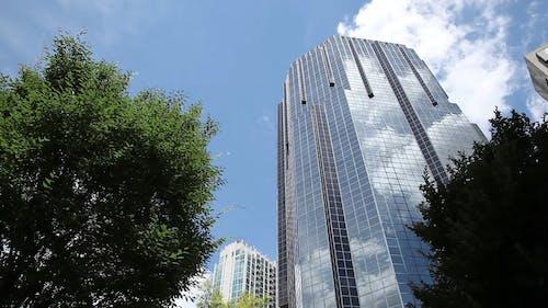 Low Angle Shot Of A Skyscraper