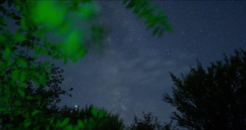 Time-Lapse of the Sky at Night