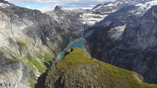 Drone Footage of Limmernsee in Switzerland
