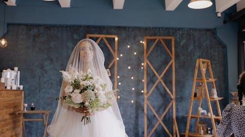 A Bride Walking Down the Aisle