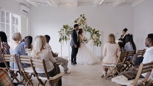 Video of a Wedding Ceremony