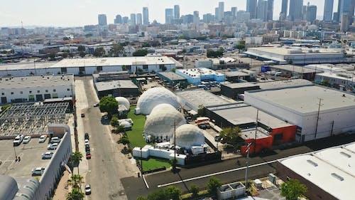 Drone Footage of Wisdome LA