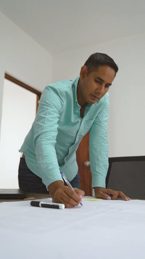 Businessman Discussing About Workplan