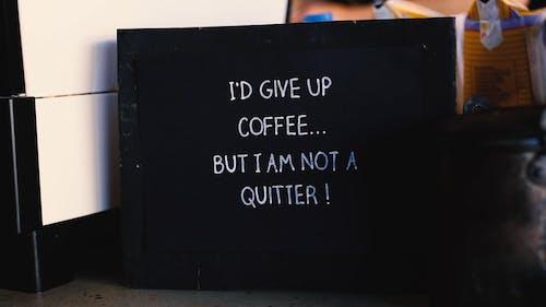 Slogan on a Board
