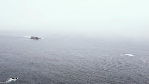 Aerial Footage of the Ocean