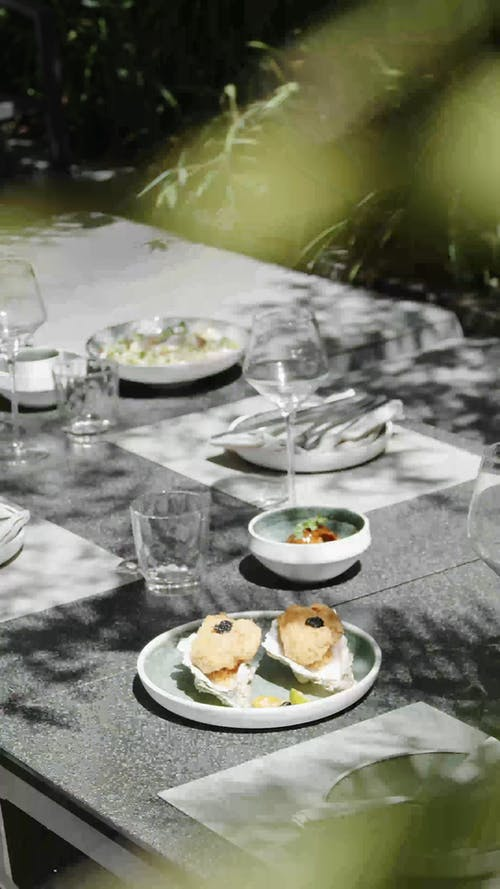 Video of a Food on Table