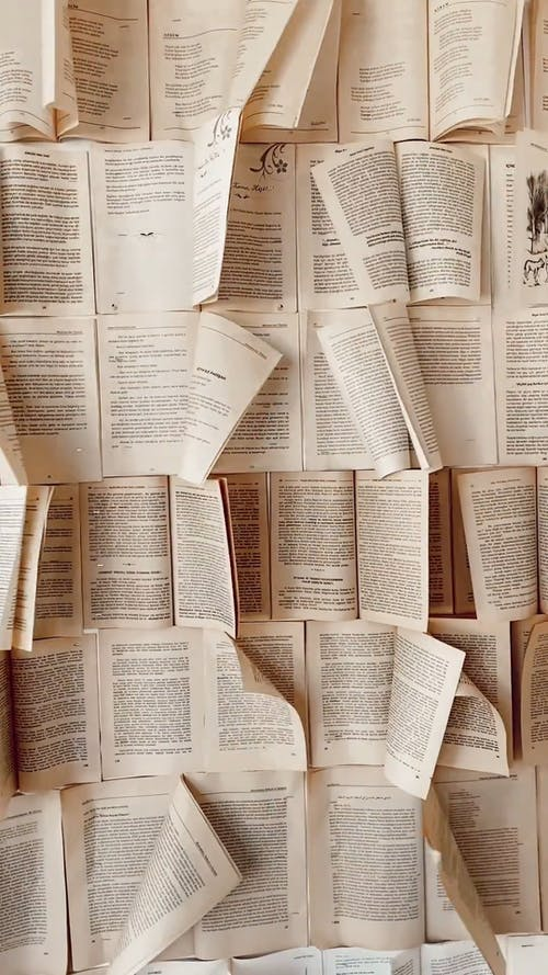 Moving Pages of Books