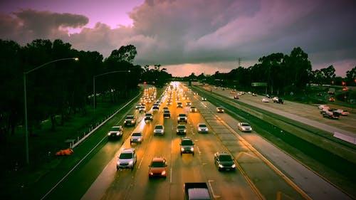 Video Tua Nhanh Thời Gian Về Những Chiếc ô Tô đang Di Chuyển
