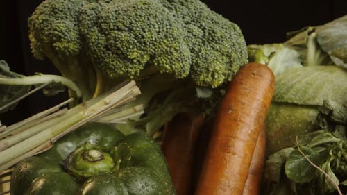 Close Up Video of Healthy Food