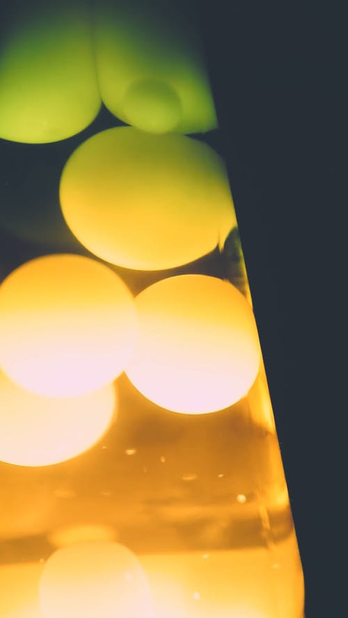 Motion From a Lava Lamp
