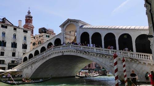 The Rialto Bridge During Daytime