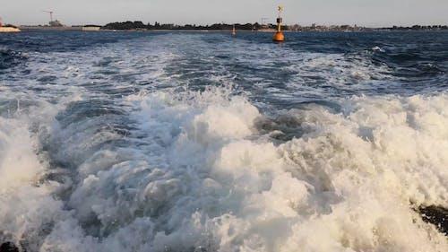 Close up Shot of Water Waves