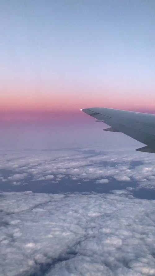 View From Aircraft Window