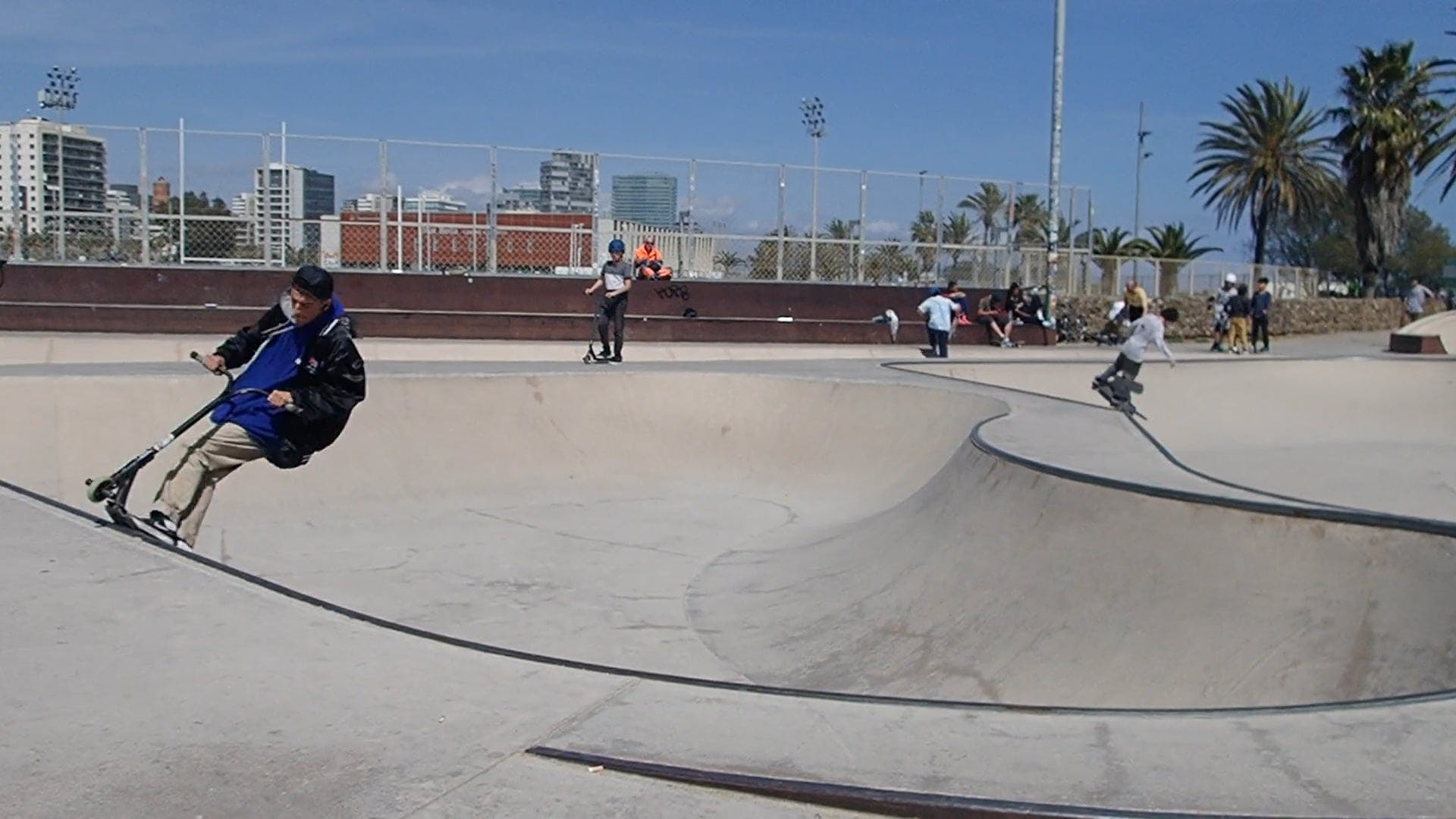 People At The Skate Park