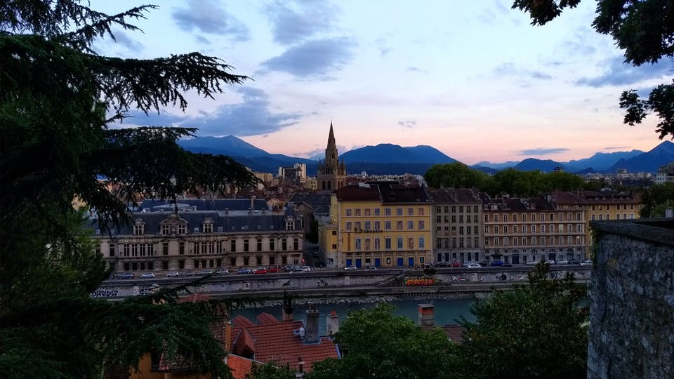 City France Mountain Travel